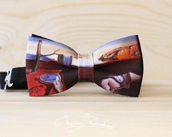 Salvador Dali art Bow tie - Bowtie