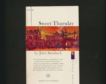Sweet Thursday, by John Steinbeck, paperback, 1961