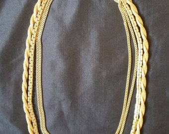 The Golden Age of Costume Jewelry Vendome Necklace