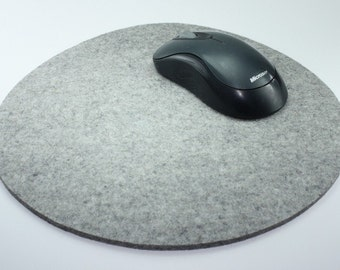 """10.5"""" Mouse Pad Mousepads Round Mouse Pad Felt Mouse Pad Large Mousepad Oversized Mouse Pad Computer Mouse Pads"""