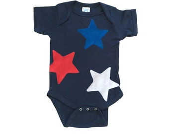 Who Wants to be The Star? - Navy Infant Bodysuit – Boys or Girls