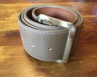 Beautiful Leather Mulberry Belt