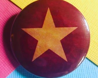 Vietnam Flag Pinback Button, Magnet, Badge, Vietnamese Flag Button, Ho Chi Minh gift, Flag Pin, Traveler Flag Keychain, Lapel Pin