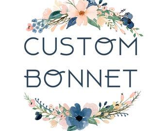 Custom Bonnet