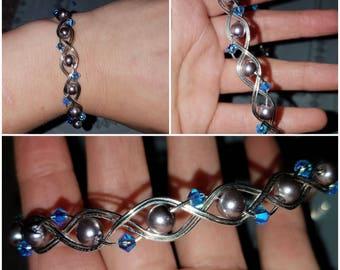 braided wire bracelet