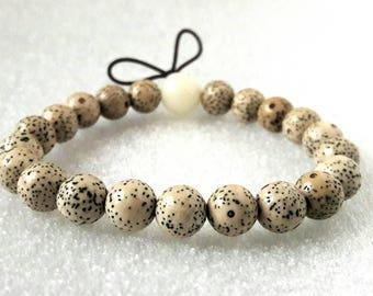 Lotus seed bracelet.. Buddhist Lotus seed Bracelet