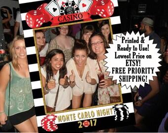 casino party photo booth props, birthday photo props, birthday photo booth frame, birthday photo frame, birthday photo backdrop