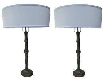 Tall Pair of Pepe Mendoza Table Lamps
