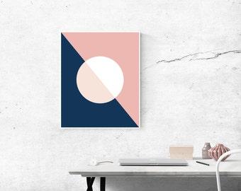 Downloadable Digital Print - Modern Circle