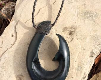 Ogden Jade Hook Necklace