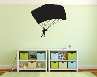 Skydiving Wall Decal