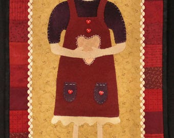 Pattern: February Franne Quilt Pattern by Briar Root Primitives
