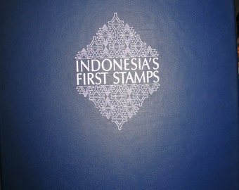 Indonesia's First Stamps album
