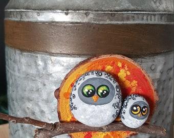 Autumn Owl Magnet - 037