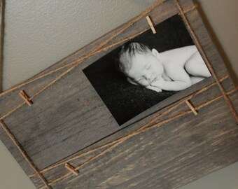 Wood Plank Picture Hanger