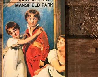 Vintage book Austen, Jane's Mansfield Park in a Penguin edition