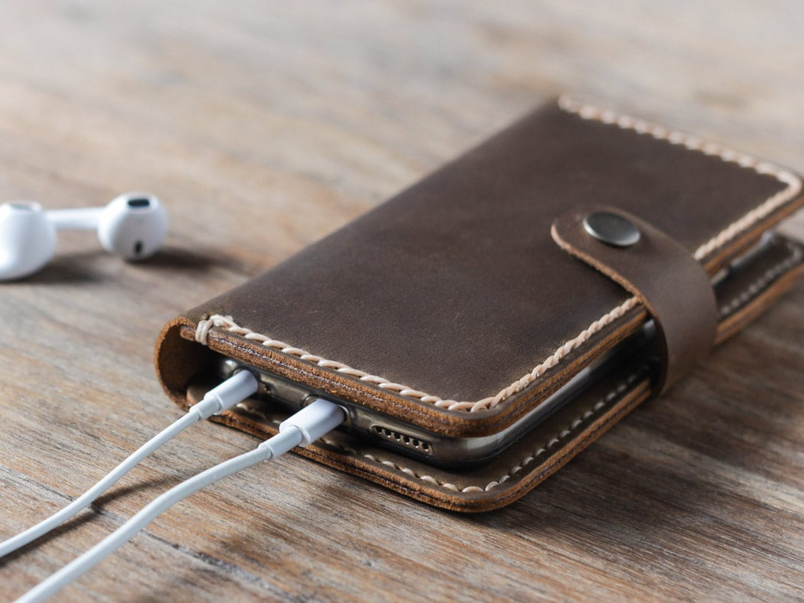 Personalized Iphone Case Leather