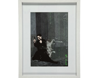 "Film Art Print - The Matrix - fan-art ""The One"""