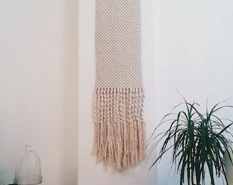 macrame wall hanging, wall tapestry, macrame tapestry, boho wall hanging, large wall hanging, macrame, macrame home decor, macrame hanging