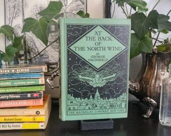 At The Back Of The North Wind -George MacDonald - 1944 Hardcover