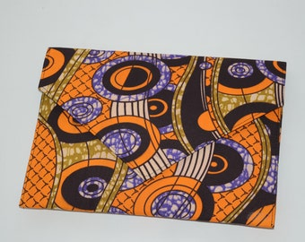 Ankara/ African Print envelope clutch purse- Omotola Collection