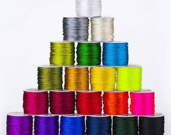 Rat-Tail 2mm Satin Rats Tail Cord, Rope, Ribbon, Trim, Braiding, Quality Fabric and Material, Sewing and Crafts, Neotrims Textiles, Cheap