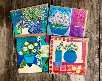 Art Greeting Card Pack - Blank Greeting Cards - Mother's Day - Gift