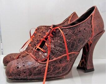 Upcycled Irregular choice shoes