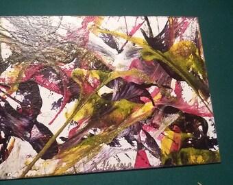 Chaotic acrylic