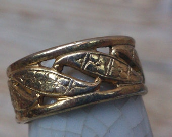 vintage Uncas band ring