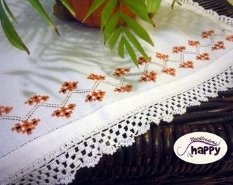 Doily crochet and hardanger home decor