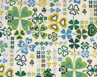 GOOD LUCK CHARM, Alexander Henry, 100% Cotton Quilting Fabric Apparel, Fabric by the Yard