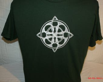 "Mens Grateful Dead shirt. Grateful Dead Shirt. ""The Wheel"" Celtic Wheel of Life."