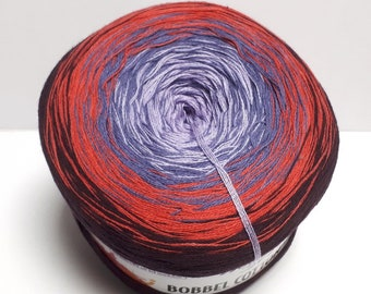 Gradient yarn beebles Cotton (8,48EUR/100g) woolly hugs color 19