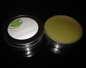 Organic All Purpose Healing Comfrey, Chamomile & Rose Salve 8 oz