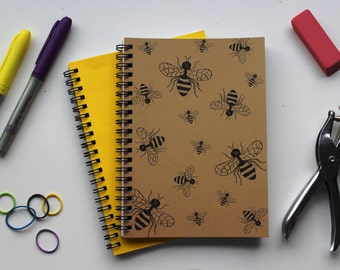 A buzz of bees - 5 x 7 journal