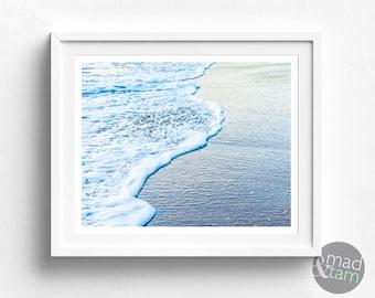 Ocean Print, Nautical Decor, Beach Wall Decor, Printable Art, Ocean Wall Art, Beach Printable, Wall Art Print, Nautical Print, Modern Print