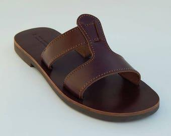 Mens Genuine Leather Sandals