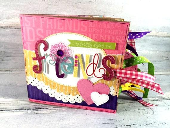 friends scrapbook gift for friend best friends photos