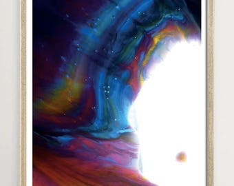 Art print - Cosmic love