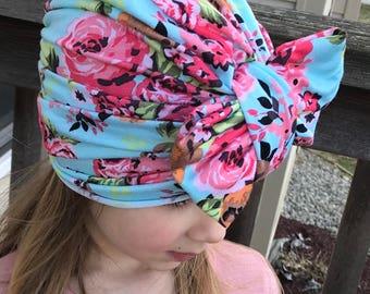 Child Turban hat/ Toddler turban