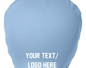 custom baby beanie, personalized beanie, baby beanie hat, custom baby hat