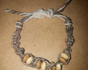 Handmade Hemp/Bamboo cord Bracelet