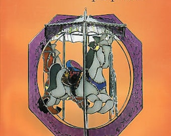 Customer Favorite Stained GLASS WHIRLS POTPOURRI Pattern Book Sculpture