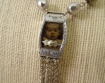 Altered Vintage OOAK Necklace