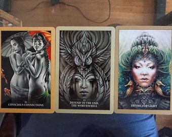 Oracle or Tarot Reading - sent to you