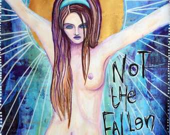 Not the Fallen: A4 Archival Quality Art Print