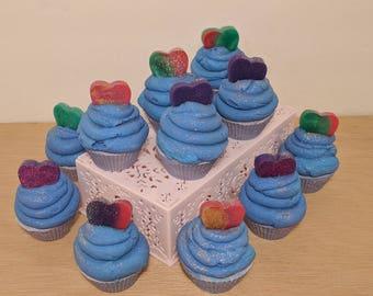 Love Across the Galaxy Mini Soap Cupcake | Vegan | Cruelty Free | Palm Free