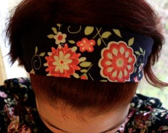 Cotton Headband Bandana, Love