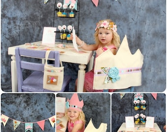 Princess Party Package Pattern- How To